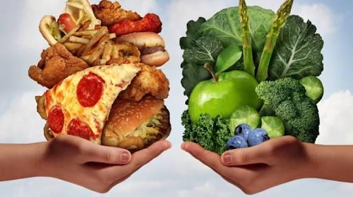 Good vs bad diet