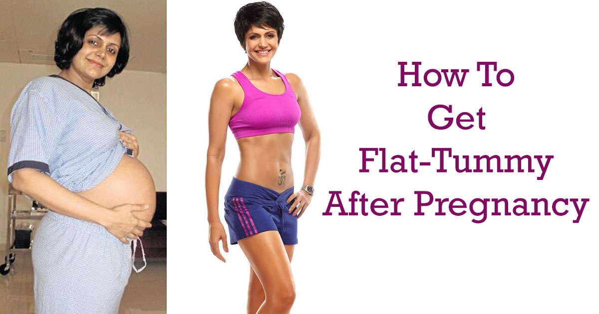 how to become flat tummy
