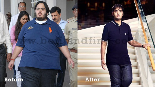 Anant Weight Loss Before After