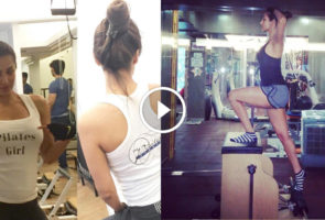 Malaika Arora Khan Workout Pilates
