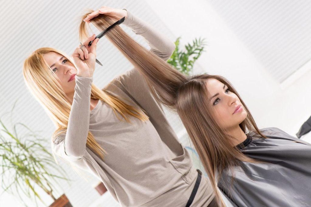 Types And Techniques Of Hair Straightening Be Fit And Fine