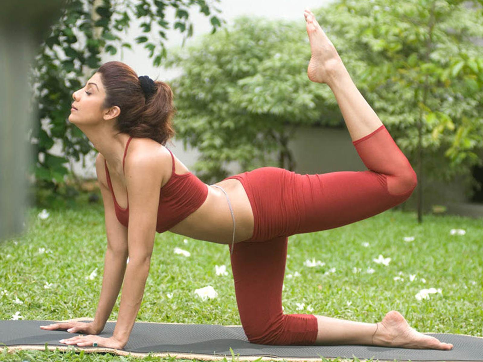 International Day Of Yoga With Shilpa Shetty