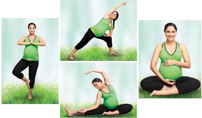 Prenatal Yoga With Lara dutta Exercises