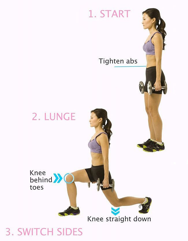 Lunges Indoor Exercises