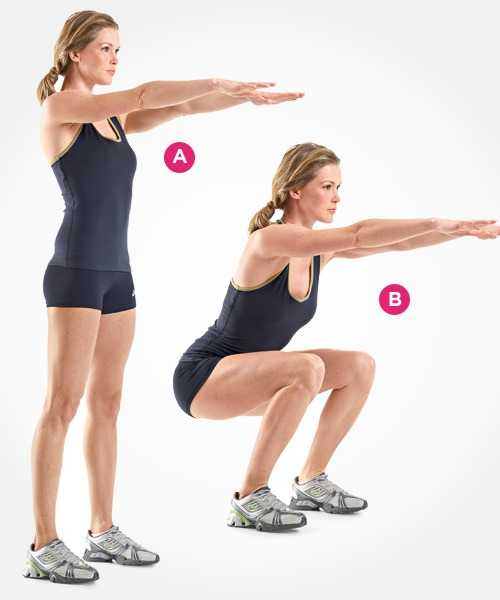 Squat Indoor Exercises