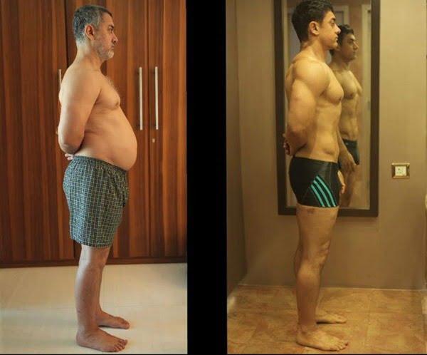 Fat To Fit Aamir Khan