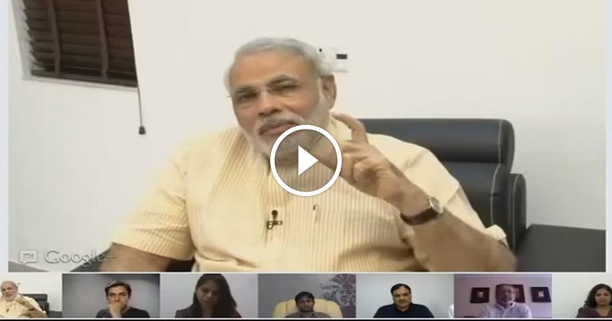 Indian PM Narendra Modi Interview