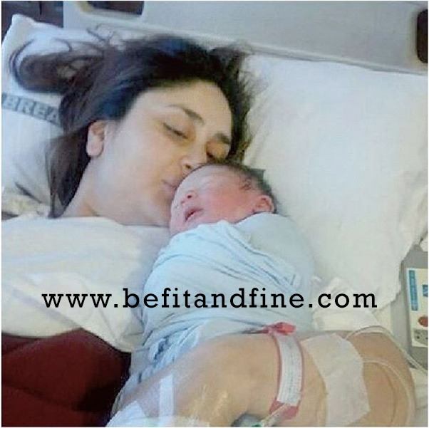 Kareena Kapoor With Son TAIMUR ALI KHAN PATAUDI