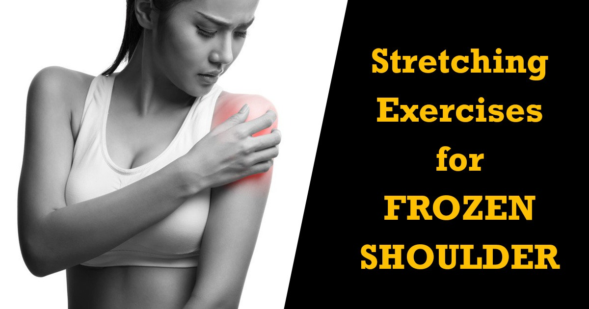 Stretching Exercises For Frozen Shoulder