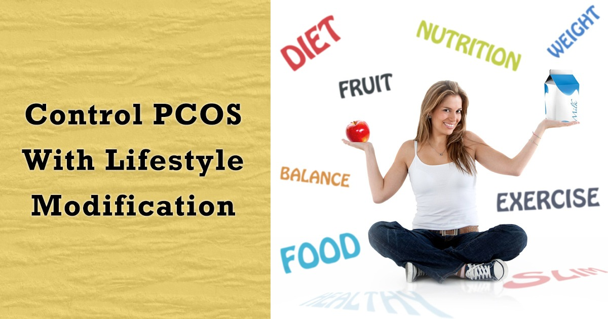 Control PCOS With Lifestyle Modification