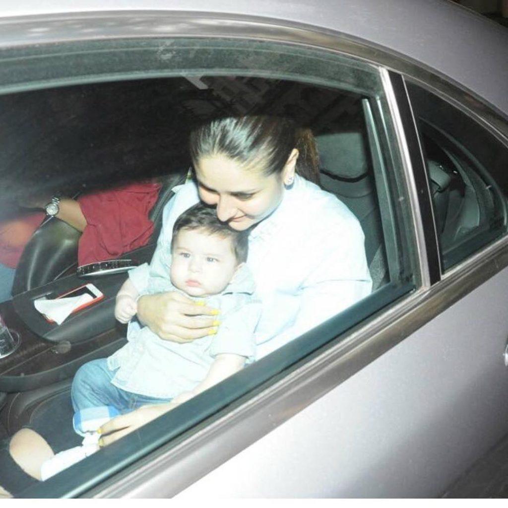 kareena kapoor khan with son