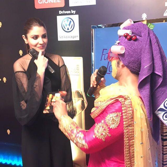 Hilarious Pammi Aunty With Anushka Sharma