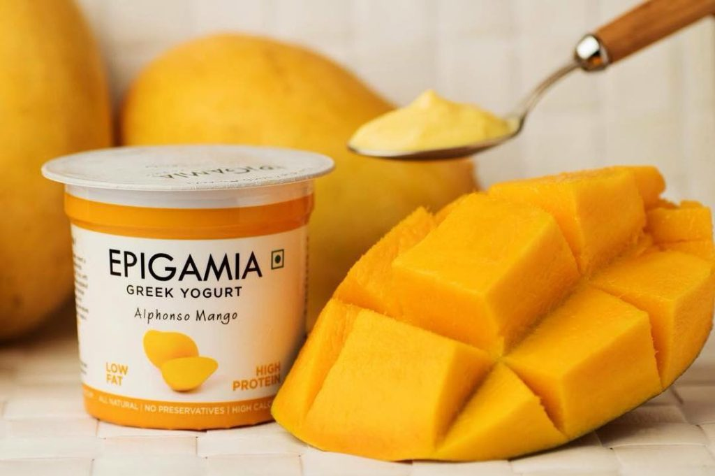 Epigamia Greek Yogurt - Mango Flavour