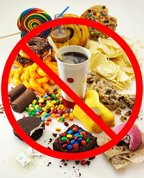 Unhealthy Food Leads To sagging Facial Skin