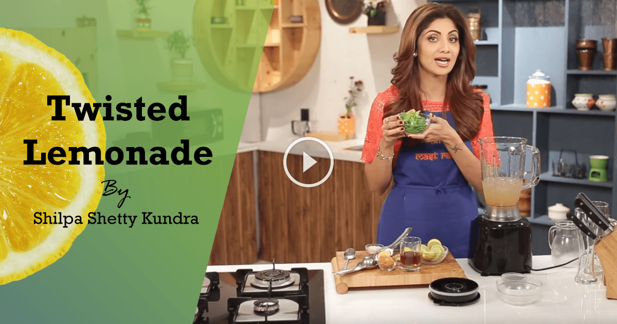 Healthy Lemonade Recipe For Summers By Shilpa Shetty