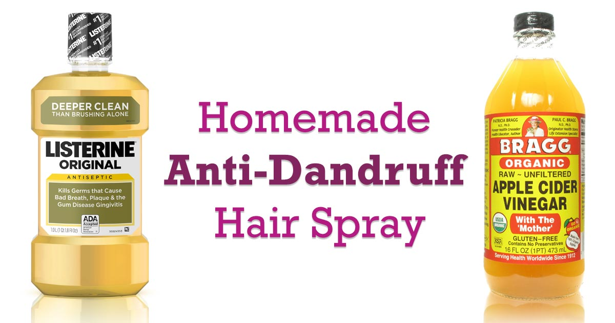 Homemade Anti Dandruff Spray