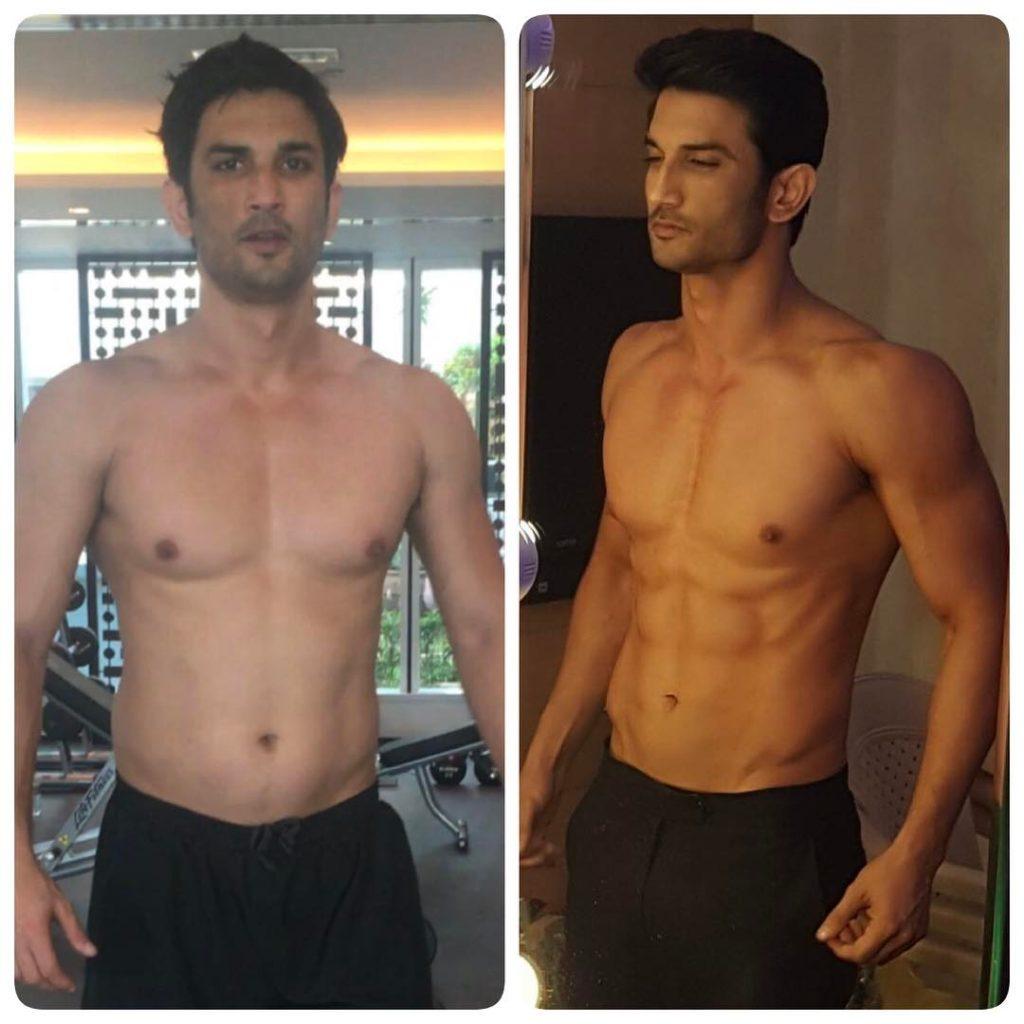 Sushant Singh Rajput Workout Transformation