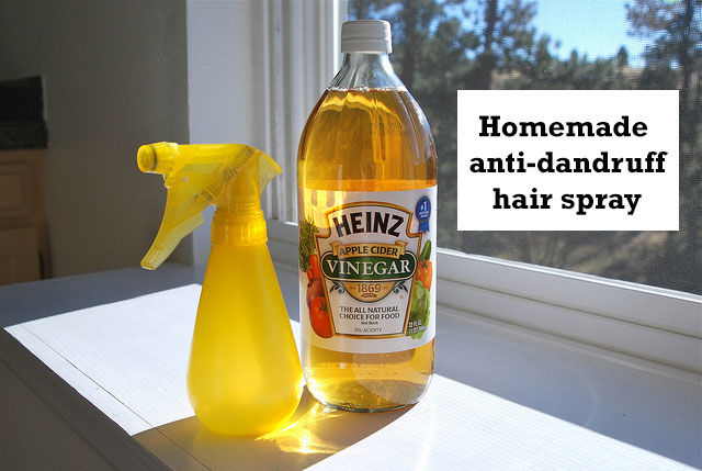 Homemade Anti-dandruff Hair Spray