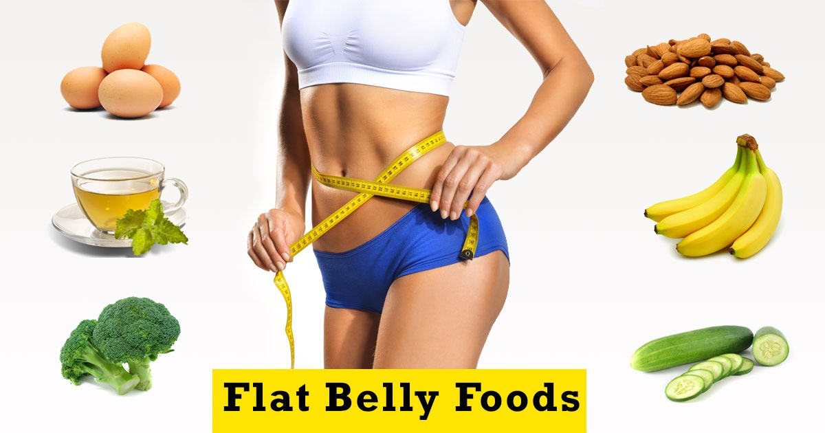 10 Best Flat Belly Foods: Eat And Burn Belly Fat Fast