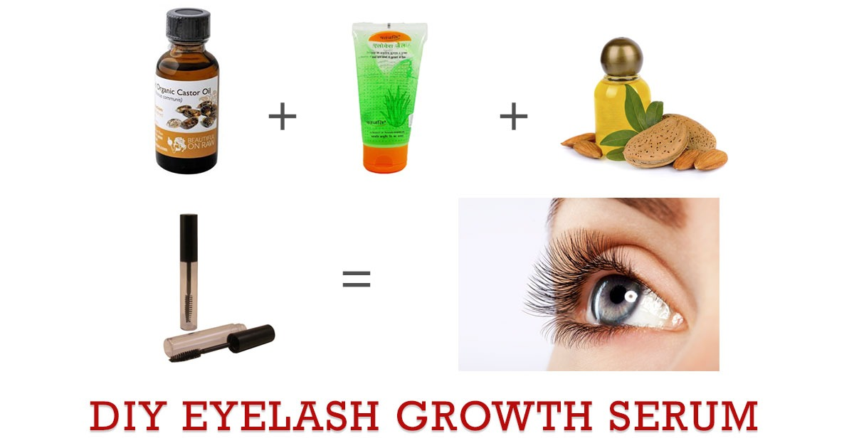 Homemade Eyelash Growth Serum For Longer And Thicker Eyelashes