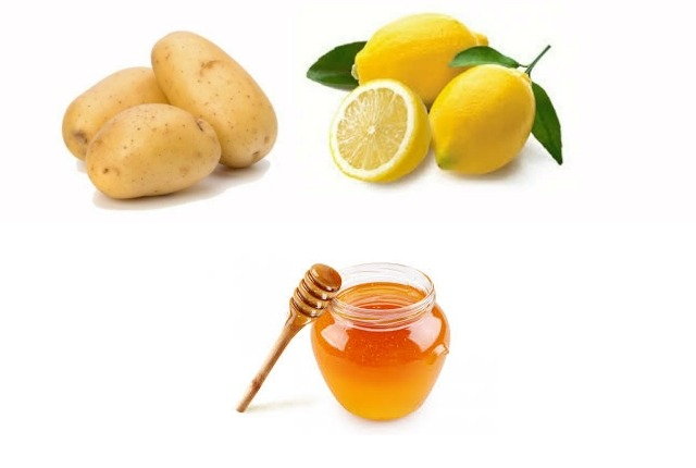 Potato Beauty Benefits With Lemon And Honey