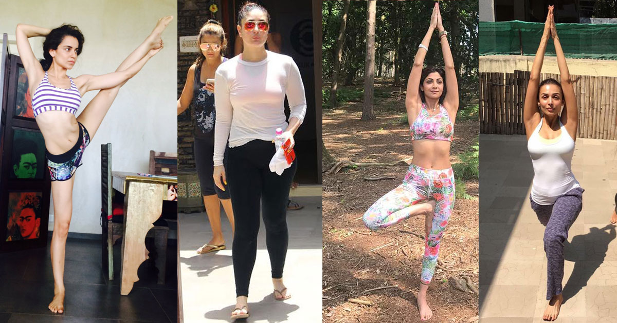 Watch How Celebrities Celebrate International Yoga Day 2017