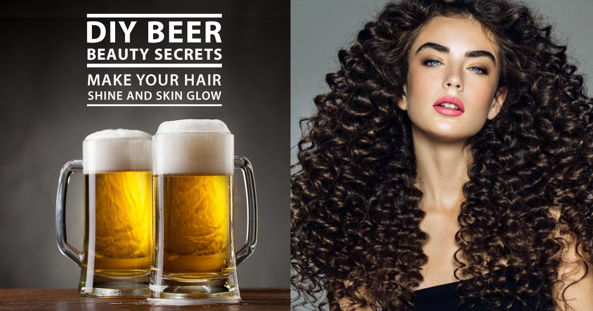 DIY Beer Beauty Benefits Make Your Hair Shine And Skin Glow