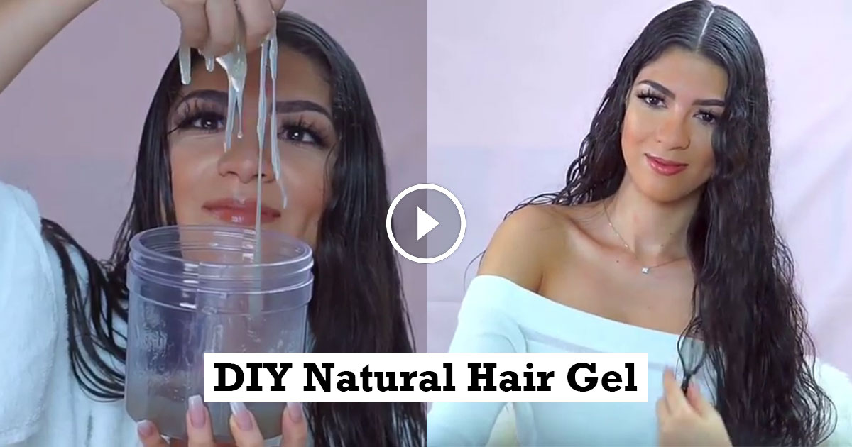 DIY Natural Hair Gel