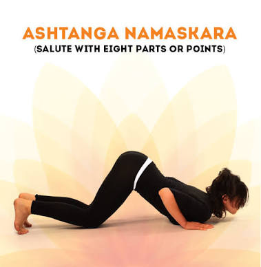 Ashtanga Namaskara -Salute With Eight Parts Or Points