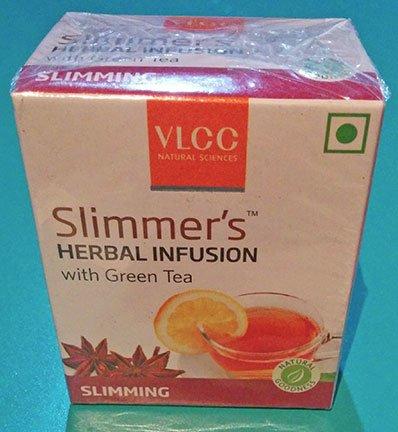 Packaging of Tea Bag of VLCC Slimmers Herbal Infusion Green Tea