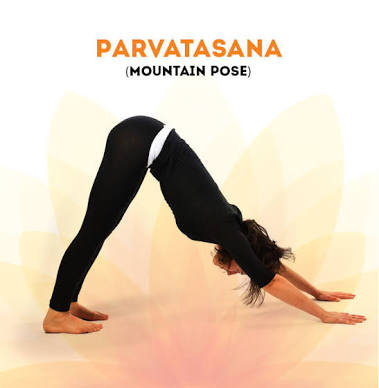 Parvatasana -Mountain pose