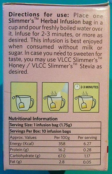 Product Description VLCC Green Tea