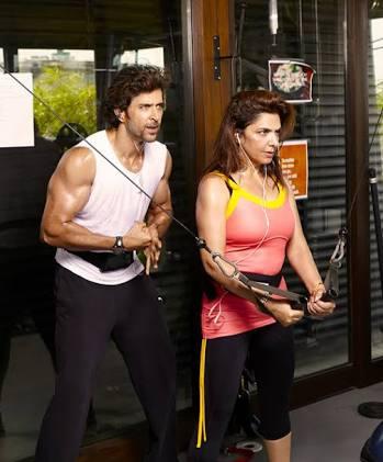 Hrithik Roshan's Mother Workout