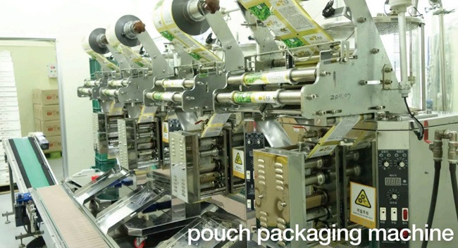 Light Planew Pouch Packaging Machine