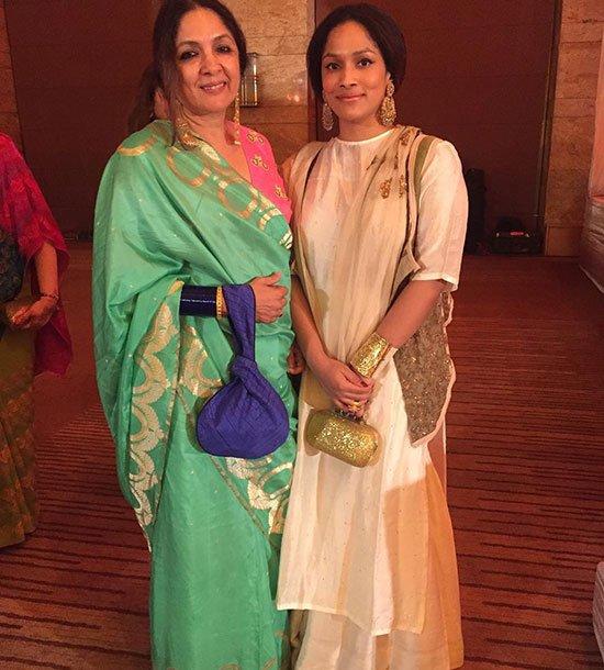 Masaba Gupta With Mother Neena Gupta
