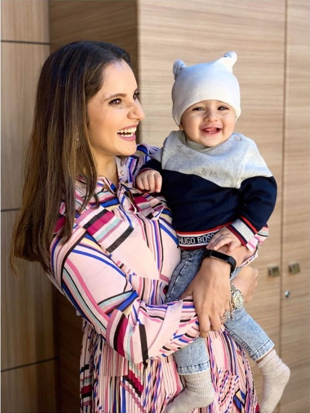 Sania Mirza Post Pregnancy Weight Loss