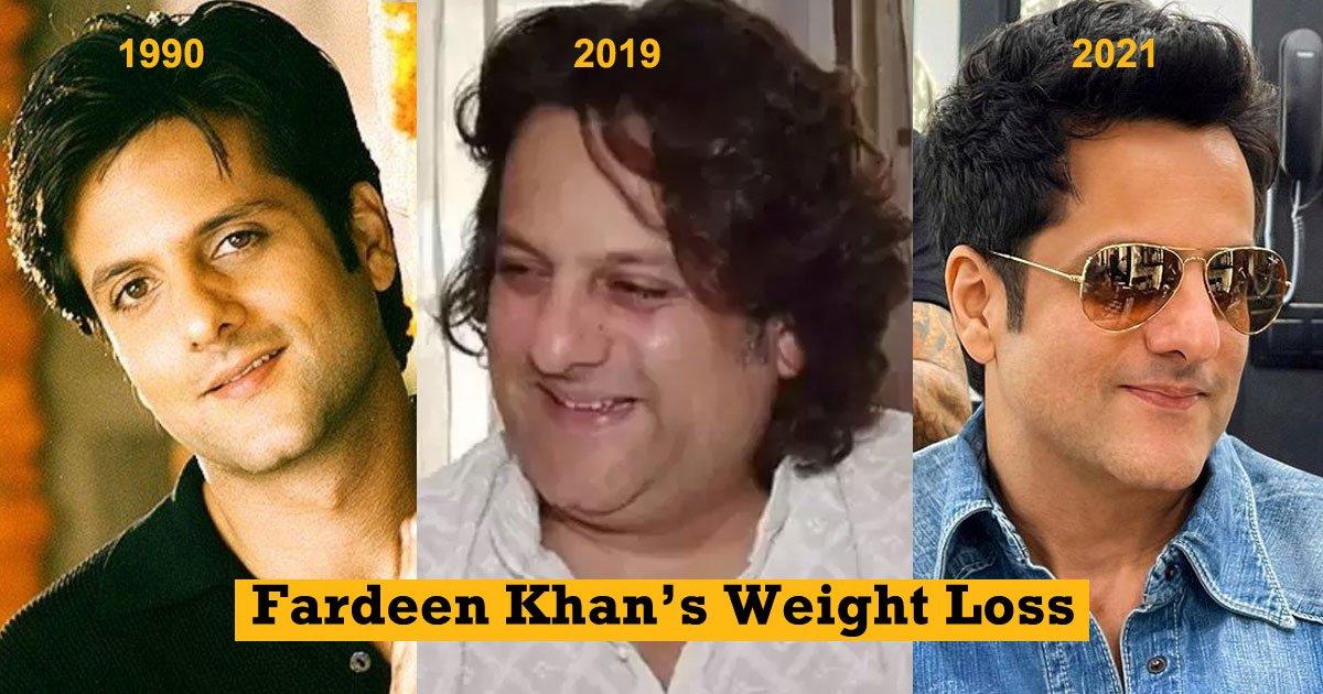 Fardeen Khan Weight loss